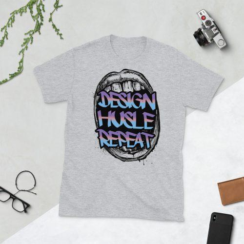 Design Hustle Repeat T-Shirt
