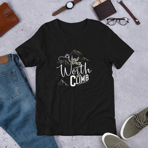 The View Will be Worth the Climb T-Shirt