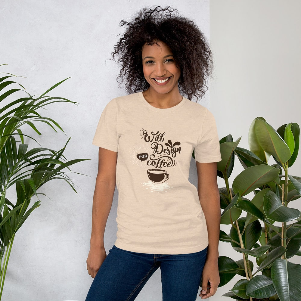 Will Design for Coffee T-Shirt